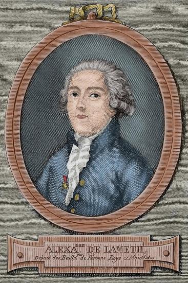 Alexandre De Lameth (1760-1829)--Giclee Print