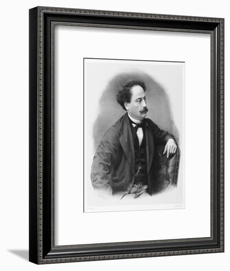 Alexandre Dumas Fils French Novelist-C. Fuhr-Framed Giclee Print