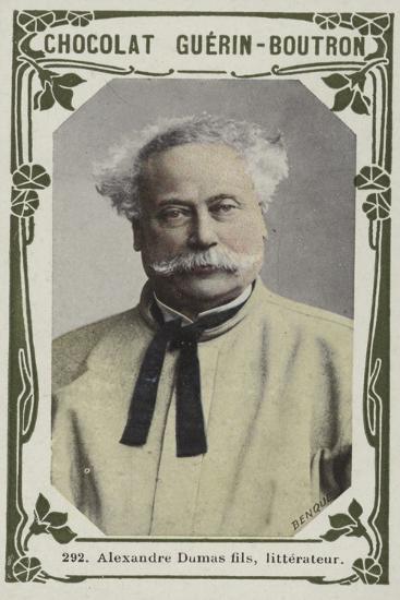 Alexandre Dumas Fils, Litterateur--Giclee Print