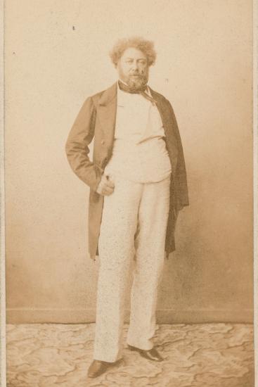 Alexandre Dumas, Writer--Photographic Print