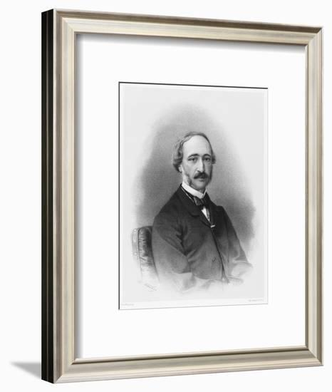 Alexandre-Edmond Becquerel French Physicist in 1865-C. Fuhr-Framed Giclee Print