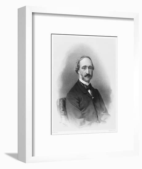 Alexandre-Edmond Becquerel French Physicist in 1865-C. Fuhr-Framed Giclee Print