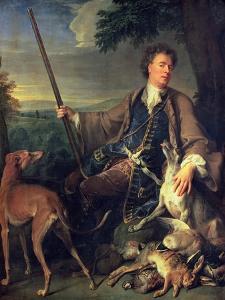Self Portrait as a Hunter, 1699 by Alexandre-Francois Desportes