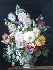 Vase of Summer Flowers by Alexandre-Francois Desportes