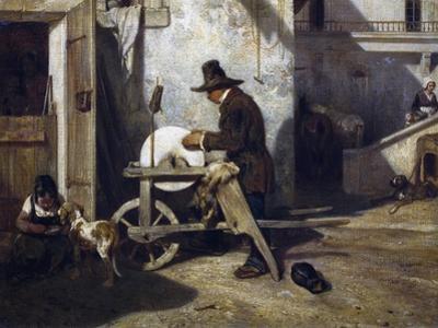 The Grinder, Ca 1840