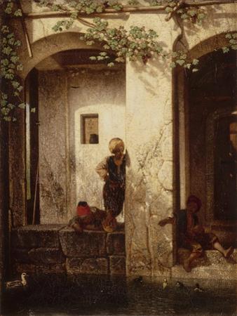 Turkish Children at a Fountain, 1846