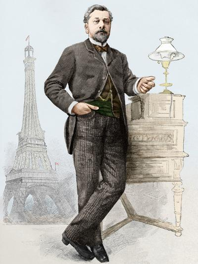 Alexandre Gustave Eiffel (1832-1923), Engineer-Sheila Terry-Photographic Print
