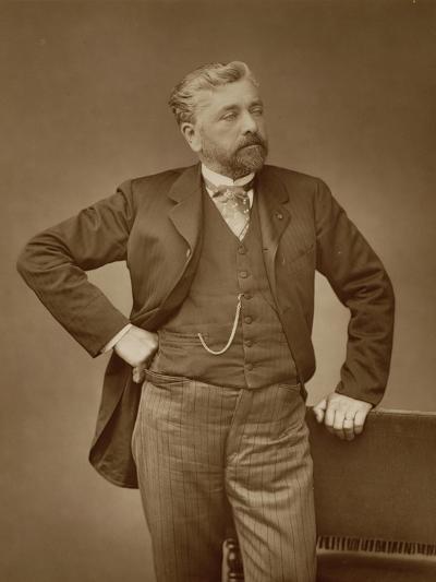 Alexandre Gustave Eiffel-Stanislaus Walery-Giclee Print