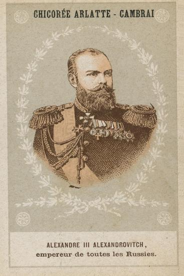 Alexandre III Alexandrovitch, Empereur De Toutes Les Russies--Giclee Print