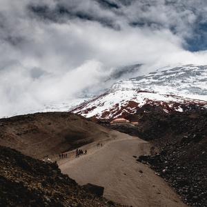 Hiking towards the refuge, Cotopaxi Volcano, Ecuador, South America by Alexandre Rotenberg