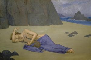 The Lamentation of Orpheus, 1896 by Alexandre Séon