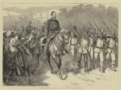 Alexandria, Arabi Pasha and His Troops-Godefroy Durand-Giclee Print