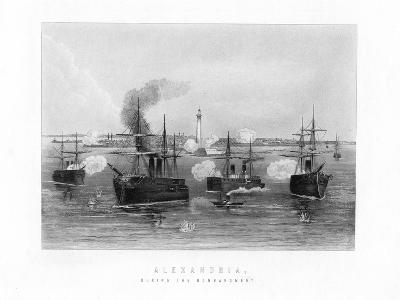 Alexandria, During the Bombardment, 1882, (19th Century)--Giclee Print