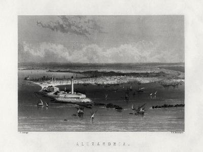 Alexandria, Egypt, 19th Century-Edward Paxman Brandard-Giclee Print