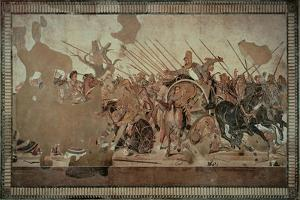 Alexander Mosaic Or the Battle of Issus by Alexandrian workers