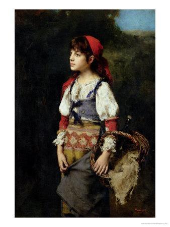 A Pretty Peasant Girl