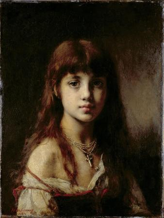 The Artist's Daughter, 1884 (See also 65310)