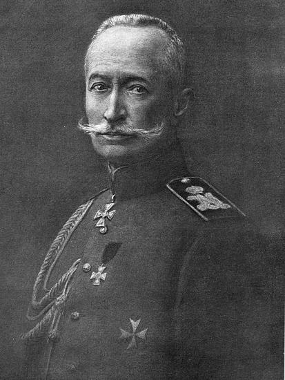 Alexei Brusilov, Russian Soldier, C1914-C1917--Giclee Print