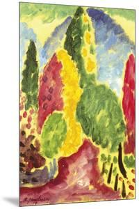 Landscape Variation by Alexei Jawlensky