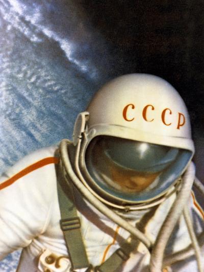 Alexei Leonov, First Space Walk, 1965-Ria Novosti-Photographic Print