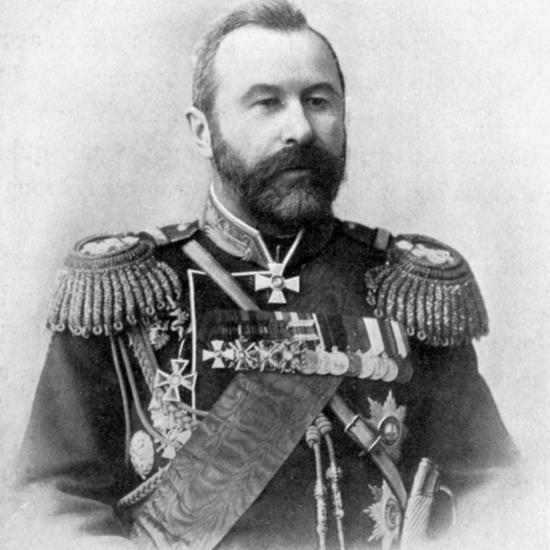 Alexei Nikolaievich Kuropatkin, Russo-Japanese War, 1904-5. Artist: Unknown-Unknown-Photographic Print