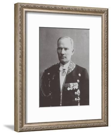 Alexei Trupp (1858 - 191), Footman of the Romanov Family--Framed Giclee Print