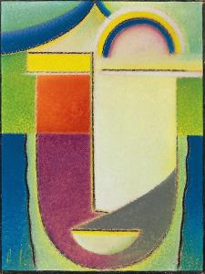 Abstract Head: Easter, 1933 by Alexej Von Jawlensky