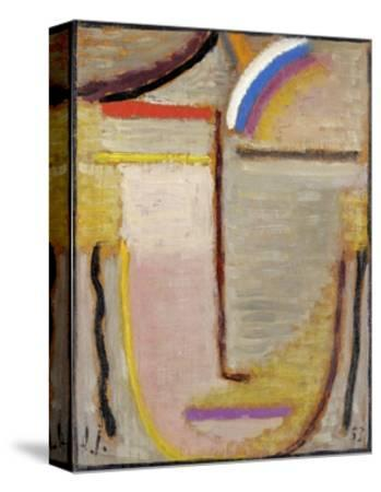 Abstract Head by Alexej Von Jawlensky