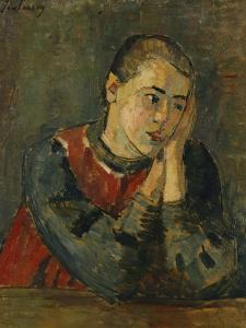 Child with Trimmed Head; Kind Mit Gestutztem Kopf, 1906 by Alexej Von Jawlensky