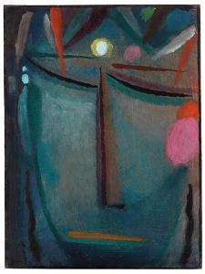 Face of Christ, Crown of Thorns, 1918 by Alexej Von Jawlensky