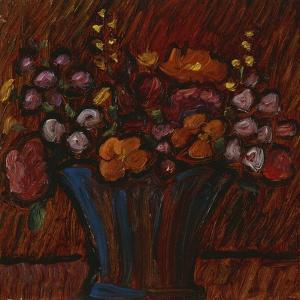 Floral Still Life; Blumenstilleben, 1936 by Alexej Von Jawlensky