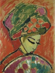 Girl in Turban by Alexej Von Jawlensky