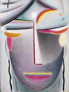 Head (Dark Buddha), c.1927 by Alexej Von Jawlensky