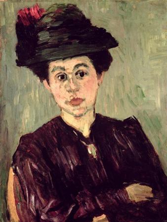 Helena Jawlensky, C.1905 by Alexej Von Jawlensky