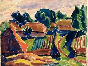 Landscape, 1908-12 by Alexej Von Jawlensky