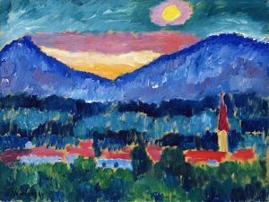Mountain Village, 1910 by Alexej Von Jawlensky