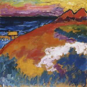 On the Ostsee; an Der Ostsee, 1911 by Alexej Von Jawlensky