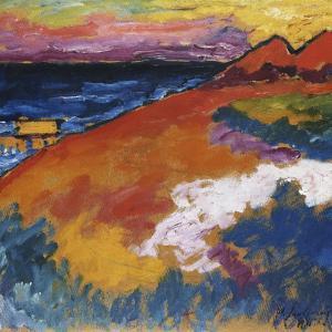 On the Ostsee; An der Ostsee by Alexej Von Jawlensky