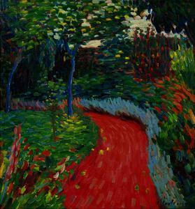 Park Path, c.1905-06 by Alexej Von Jawlensky