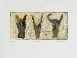 3 vacas by Alexis Gorodine