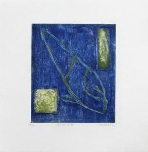 Blue note by Alexis Gorodine