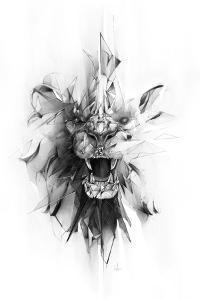 Stone Lion by Alexis Marcou