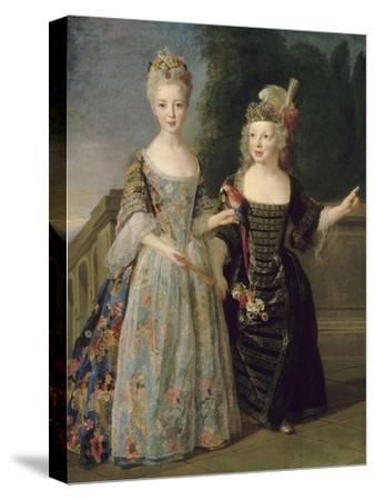 Catherine-Eléonore-Eugènie de Béthisy (1707-1767), future princesse de Montauban, et son frère
