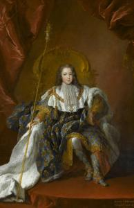 Louis XV, roi de France (1710-1774) by Alexis Simon Belle