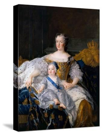 Marie Leszczynska with Louis, Dauphin of France