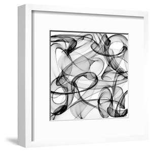 Abstract Black And White Background by alexkar08