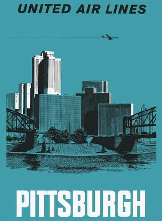 Pittsburgh, Pennsylvania USA - United Air Lines