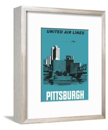 Pittsburgh, Pennsylvania USA - United Air Lines