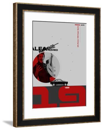 Alfa Rome Poster-NaxArt-Framed Art Print