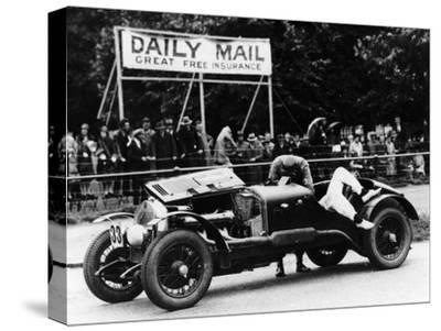 Alfa Romeo of Kaye Don, Tourist Trophy Race, Ards-Belfast Circuit, Northern Ireland, 1930